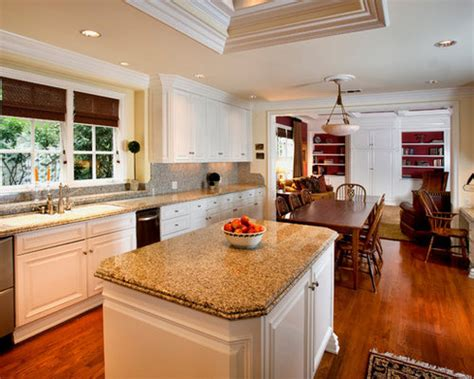 kitchen dining combo design ideas remodel pictures