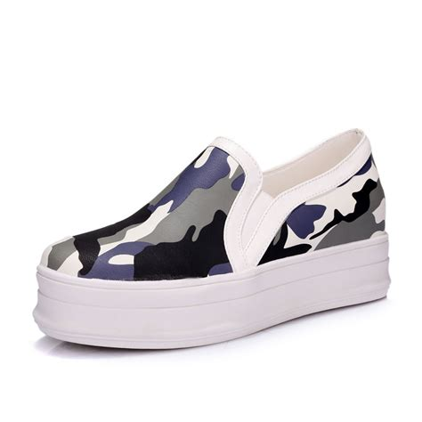 summer style new style platform shoes print fashion