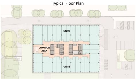 Arlington House Floor Plan Micro Units And Shared Living Space Crystal City Welive