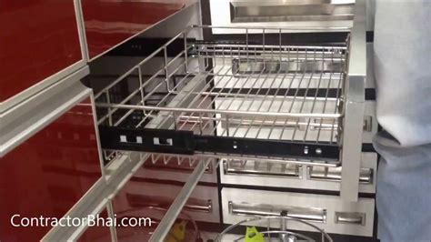 kitchen trolley ideas kitchen trolley designs by contractorbhai com youtube