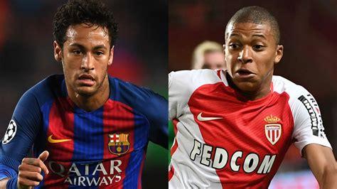 kylian mbappe kind psg transfer news after neymar les parisiens to target