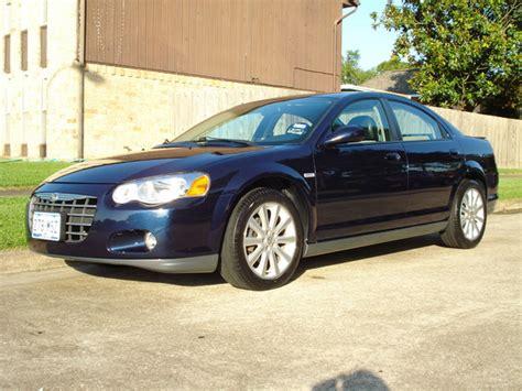 2005 Chrysler Sebring Mpg by Ck05tsi 2005 Chrysler Sebringtsi Sedan 4d Specs Photos