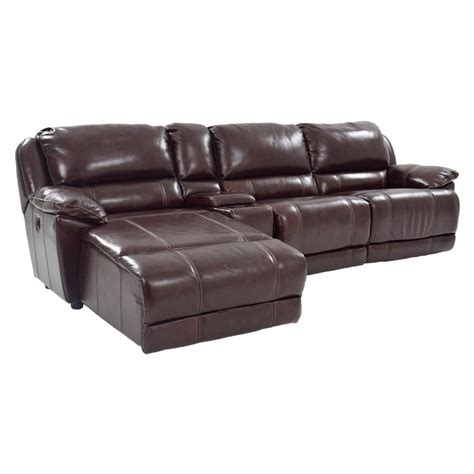 leather chaise sofa bed cado modern furniture megane