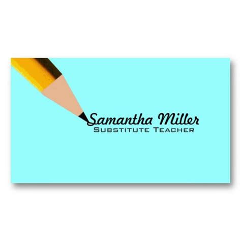 substitute business card template substitute business cards business cards