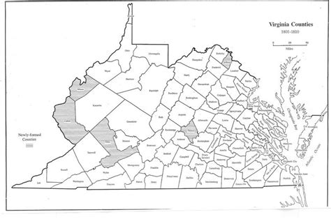 Virginia Records 1800s Virginia In Maps 1634 1895