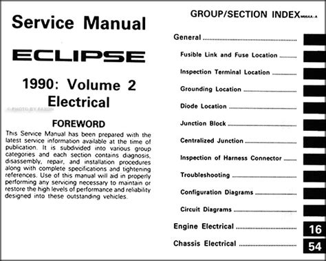 service manuals schematics 1990 mitsubishi eclipse on board diagnostic system 1990 mitsubishi eclipse repair shop manual set original