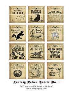 similiar harry potter potion labels keywords