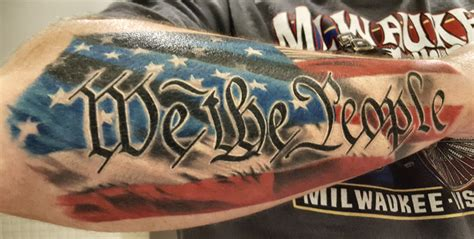 we the people tattoo we the by jim francis vantage point in