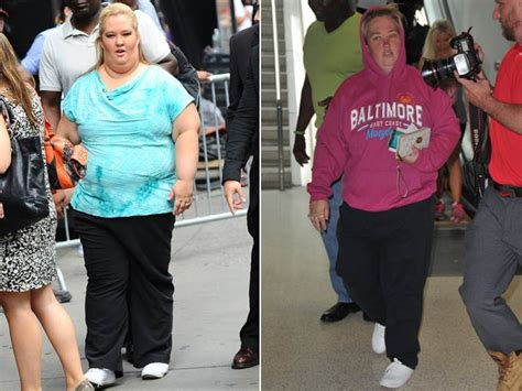 honey boo mama june weight loss is mama june wearing a fat suit on from not to hot see