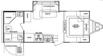 Fun Finder Rv Floor Plans by Used 2011 Cruiser Fun Finder X X 215 Wsk Travel Trailer At