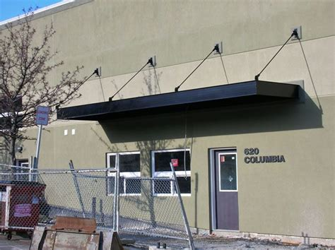 Portland Awning by Metal Awning Commercial Signage Portland Pike Awning