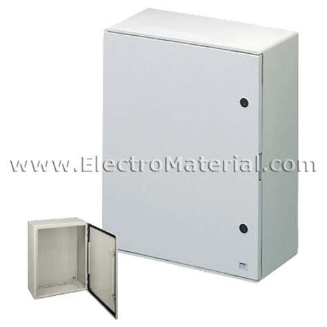 armarios poliester armario de poli 233 ster con puerta 650x515x250 electromaterial