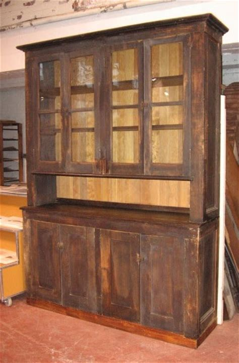 Butler Pantry Cabinets by Black Salvage Architectural Antiques Custom Designs Primitive Hutch Butler S Pantry Cabinet