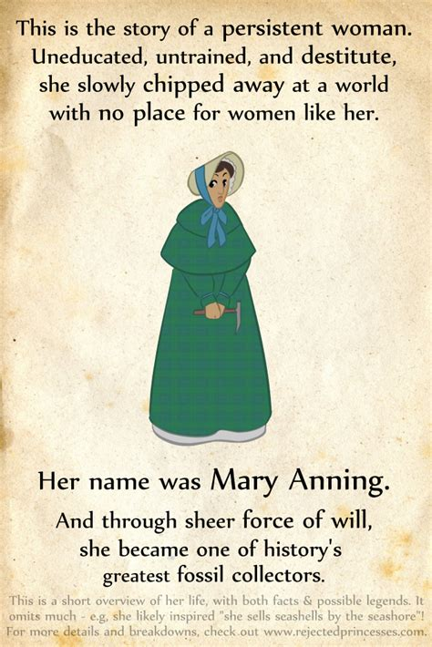biography of mary anning ks2 mary anning