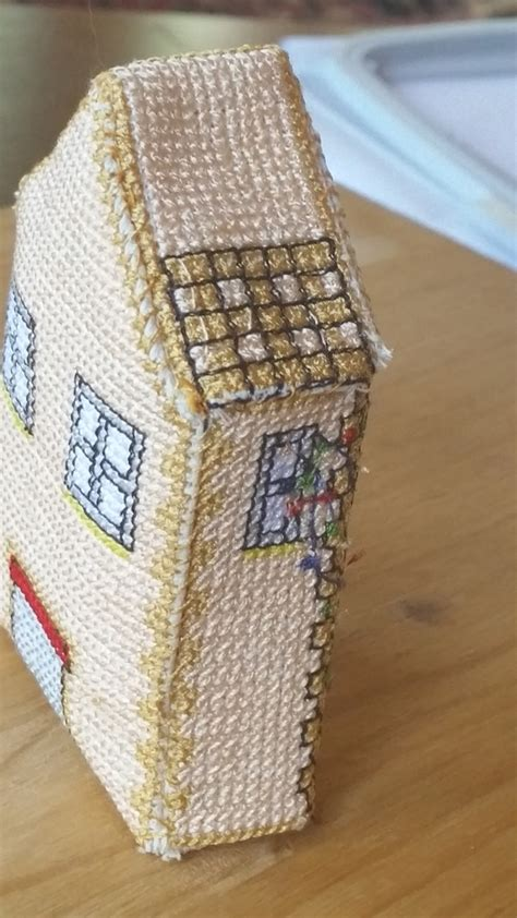 Pattern Maker Machine Embroidery | 3d house cross stitch pattern pattern maker cross stitch