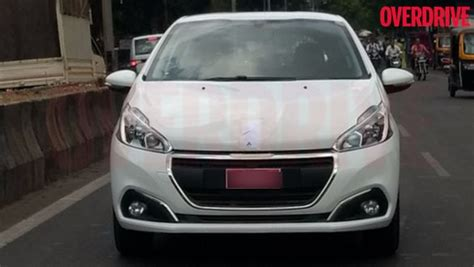 peugeot cars price in india peugeot begins its testing operations in india 208