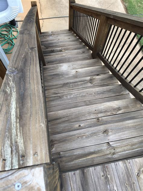 stain   pressure treated wood   deck