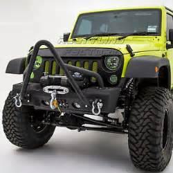 07 17 jeep wrangler jk textured black stinger front bumper