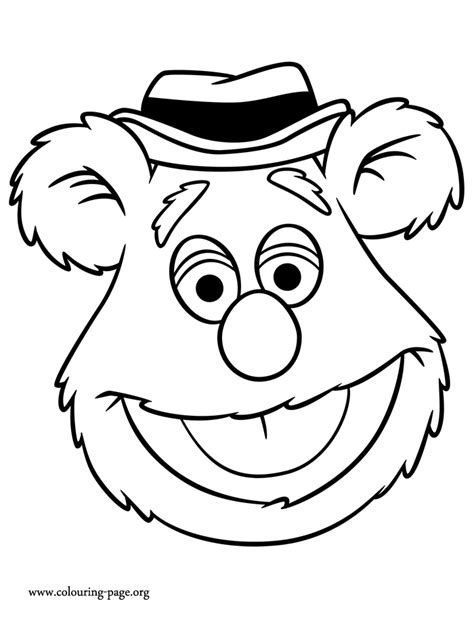 Fozzie Coloring Pages the muppets fozzie coloring page