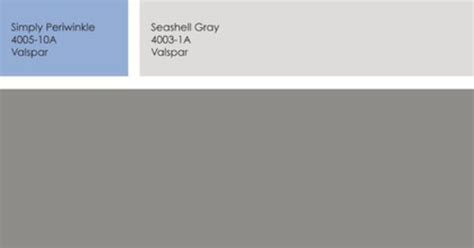 door valspar simply periwinkle then pair it with house ombra gray for the