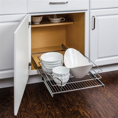 wire pullout cabinet organizer for 21 inch cabinet all