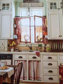 Kitchen curtains photos shoots french country style cottages decor