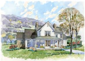 Farm Cottage Plans New South Classics The Homestead Portfolio