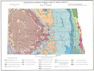 geologic map bedrock geologic map of dakota