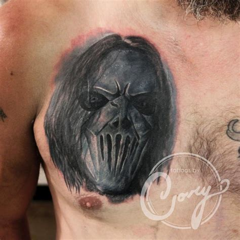 slipknot portrait coverup by cory claussen tattoos