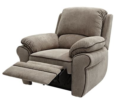 Fabric Reclining Chairs by Fabric Recliner Chair Classic Neutral Fabric Recliner