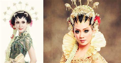 Sisir Jawa Pengantin corak make up tata rias wajah pengantin jawa