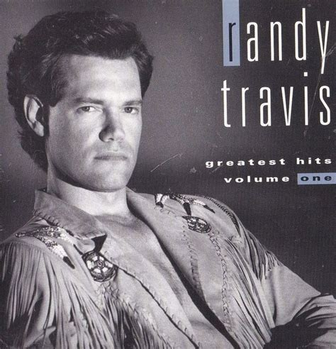 randy travis band sticker album cover country decal cave greatest album