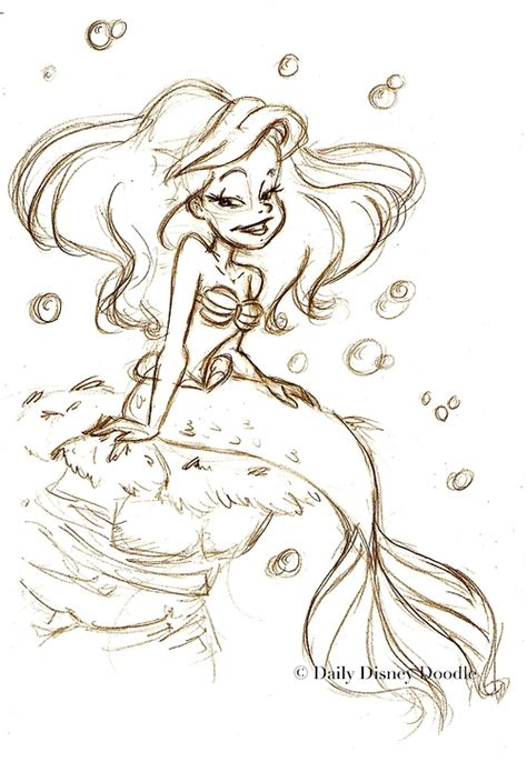 noodle and doodle we mermaids daily disney doodle page 3 of 20 we it the