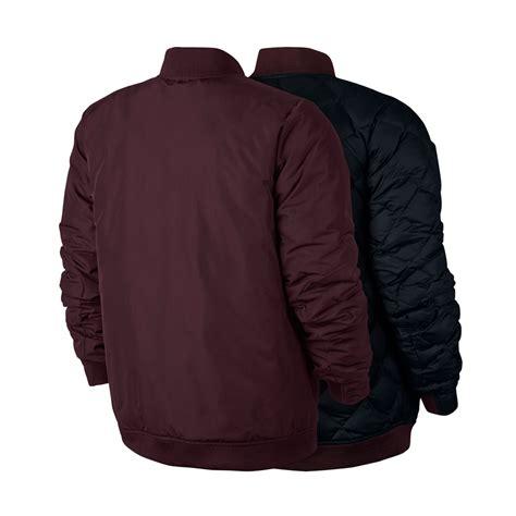 Jaket Nike Black Maroon Babeterry nike modern fill jacket maroon black highlights