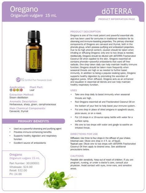 Doterra Oregano Detox by Doterra Essential Oils With Anti Properties The