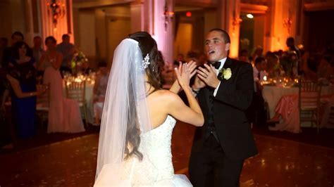 "Angela & Chris Myers  The best wedding ""first dance"" ever"