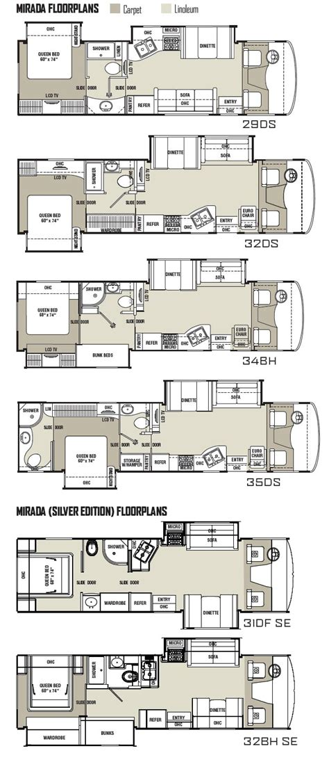 coachmen rv floor plans 24 excellent coachmen class c motorhome floor plans