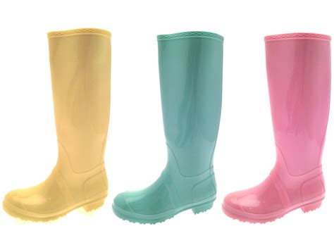 wellies boots womens pastel wellington boots snow boots