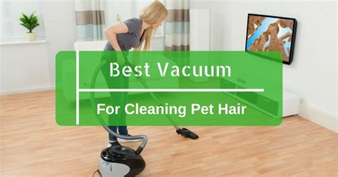 top 5 best vacuum for cleaning pet hair on hardwood floors