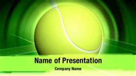 Tennis Ball Powerpoint Templates Tennis Ball Powerpoint Backgrounds Templates For Powerpoint Tennis Powerpoint Template