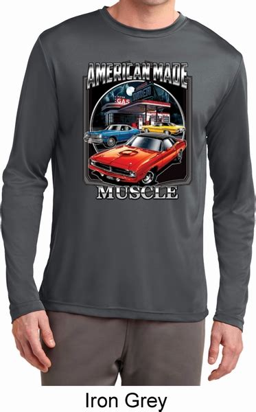 is dodge american made mens dodge shirt chrysler american made wicking