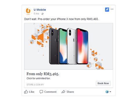 maxis digi celcom u mobile iphone x pre order plan clickuz info on gadget