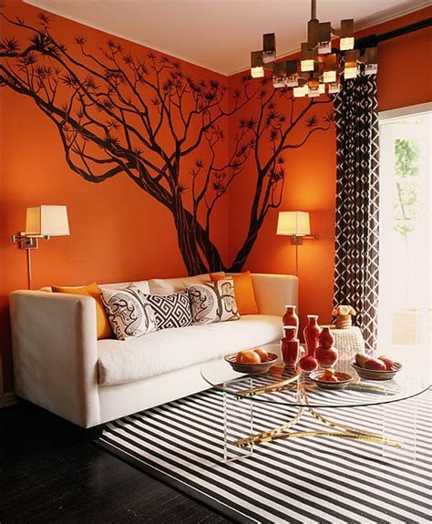 burnt orange living room walls color schemes taupe orange ivory design indulgences