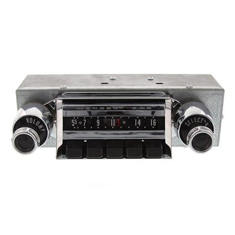1957 chevy wonderbar radio oe replica classic car stereos