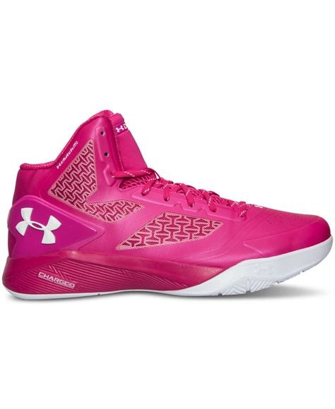 pink armour basketball shoes armour s clutchfit drive ii basketball sneakers