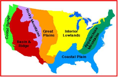 regions of the united states map map of us geographic regions