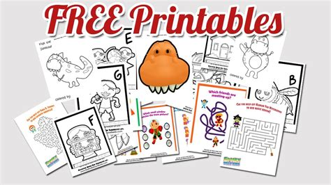 free printable activities coloring pages