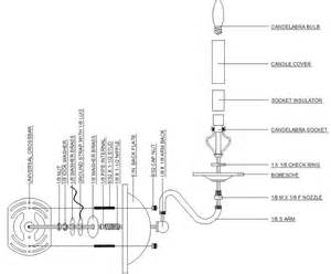 wall sconce diagram grand brass l parts llc