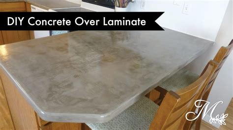 Diy Concrete Countertops Laminate by Diy Concrete Laminate Countertops Using Feather