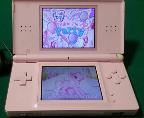 nintendo ds pink console consoles nintendo ds lite pink with r4 cartridge
